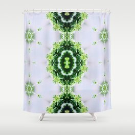 Moss in Clouds Shower Curtain