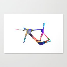 Bicycle Frame Canvas Print