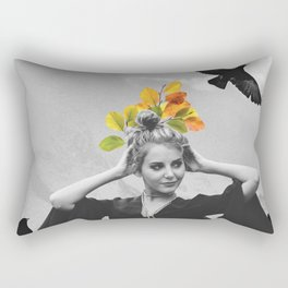 CROW GIRL Rectangular Pillow