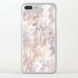 Abstract pattern 16 Clear iPhone Case