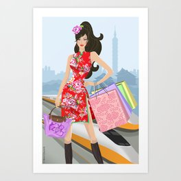 Stunning Taiwan Art Print