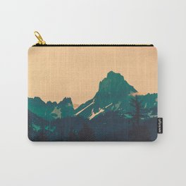 Cascade Mountains Sunset Carry-All Pouch