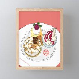 Gorgeous Cake Set Framed Mini Art Print