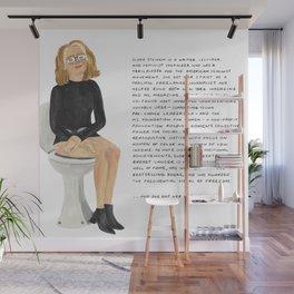 Gloria Steinem Wall Mural