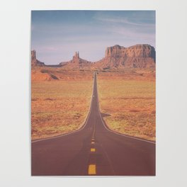 Road To Tribal Park Poster