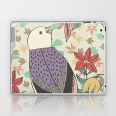 Bird and Autumn Leaves Laptop & iPad Skin