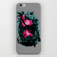 the last of us iPhone & iPod Skins featuring The Last of Us by angrymonk