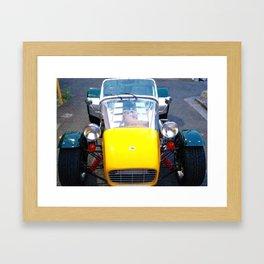 caterham, super seven, super 7, Lotus, classic cars, car, sports cars, british car, Framed Art Print