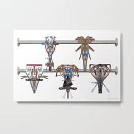 Table Football 03 Metal Print