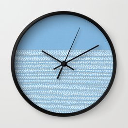 Riverside - Placid Blue Wall Clock