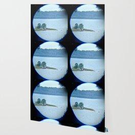 Through binoculars and cellphone Wallpaper