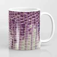 honeycomb Mugs featuring Honeycomb by BellagioVista