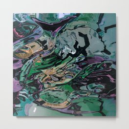 The hulk exploded Metal Print