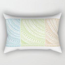 Weaved Elements I Rectangular Pillow