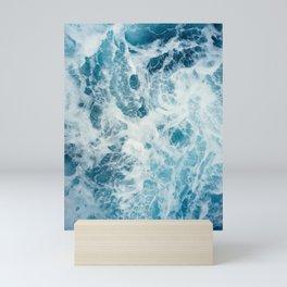 Rough Sea - Ocean Photography Mini Art Print
