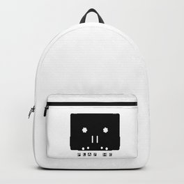Cassette Tape Play Me Backpack