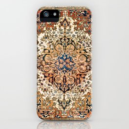 Ferahan Arak  Antique West Persian Rug Print iPhone Case