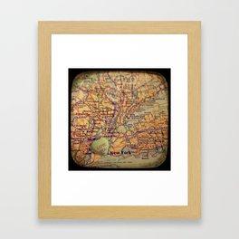 Love You New York Framed Art Print