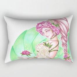 Lady Roses Rectangular Pillow