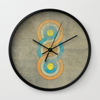 infinite Wall Clocks featuring Infinite by Metron