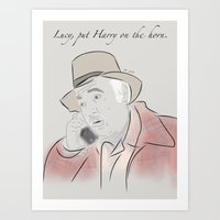 martell Art Prints featuring Pete Martell by Isn't It Too Dreamy | NC Illustration