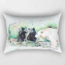 Spirit Bears Rectangular Pillow