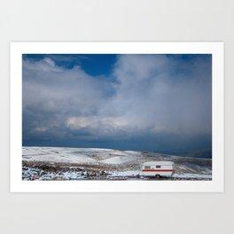 Erciyes Daği Art Print