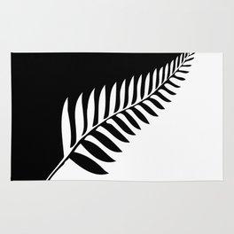Silver Fern of New Zealand Rug