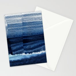 Blue Escape Watercolor Stationery Cards