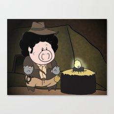 Indiana Pork Canvas Print