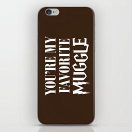 You're my favorite muggle iPhone Skin