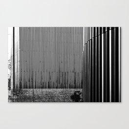 Vertical textures Canvas Print