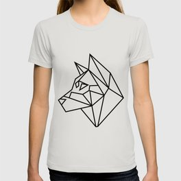 Geometric Shiba Inu T-shirt