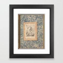 St. Michael, the Archangel  Folio from the Bellini Album   ca. 1600 Framed Art Print