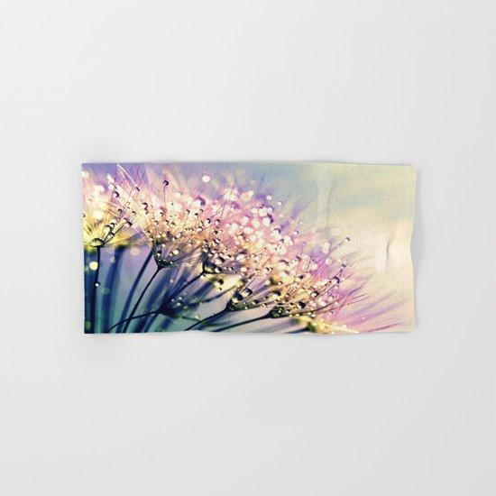 Pastel Dandelion Dew Hand & Bath Towel