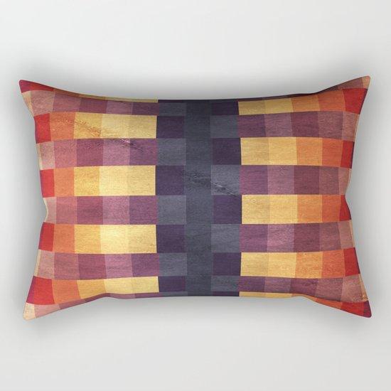 Eccentric Squared Rectangular Pillow