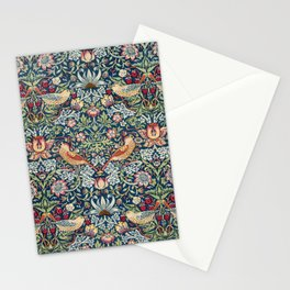 Strawberry Thief by William Morris  Stationery Cards