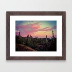 Arizona Desert Framed Art Print