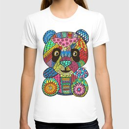 Colored panda T-shirt