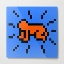 Radiant Child by Keith Haring Tribute Metal Print