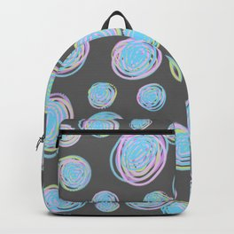 Contemporary Circles Art Pattern Backpack
