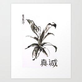 Sincere Art Print