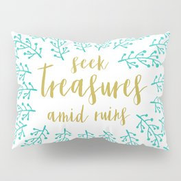 Seek Treasures Pillow Sham