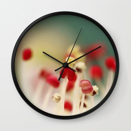 Flower Candy Wall Clock