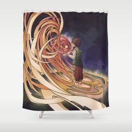 Calcifer Shower Curtain