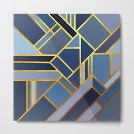 Art Deco Drops Of Jupiter Metal Print