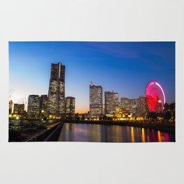 Yokohama Sunset Rug
