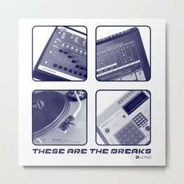These Are The Breaks II Metal Print