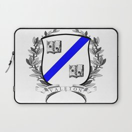 Valeton University Crest Laptop Sleeve
