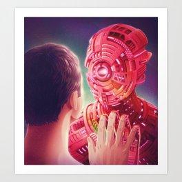 Interface Art Print